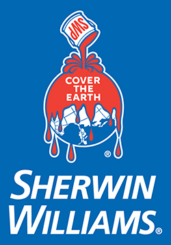 Proud to use Sherwin Williams Paint