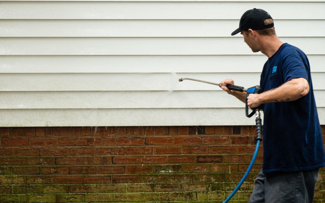 Think Spring for Pressure Washing!