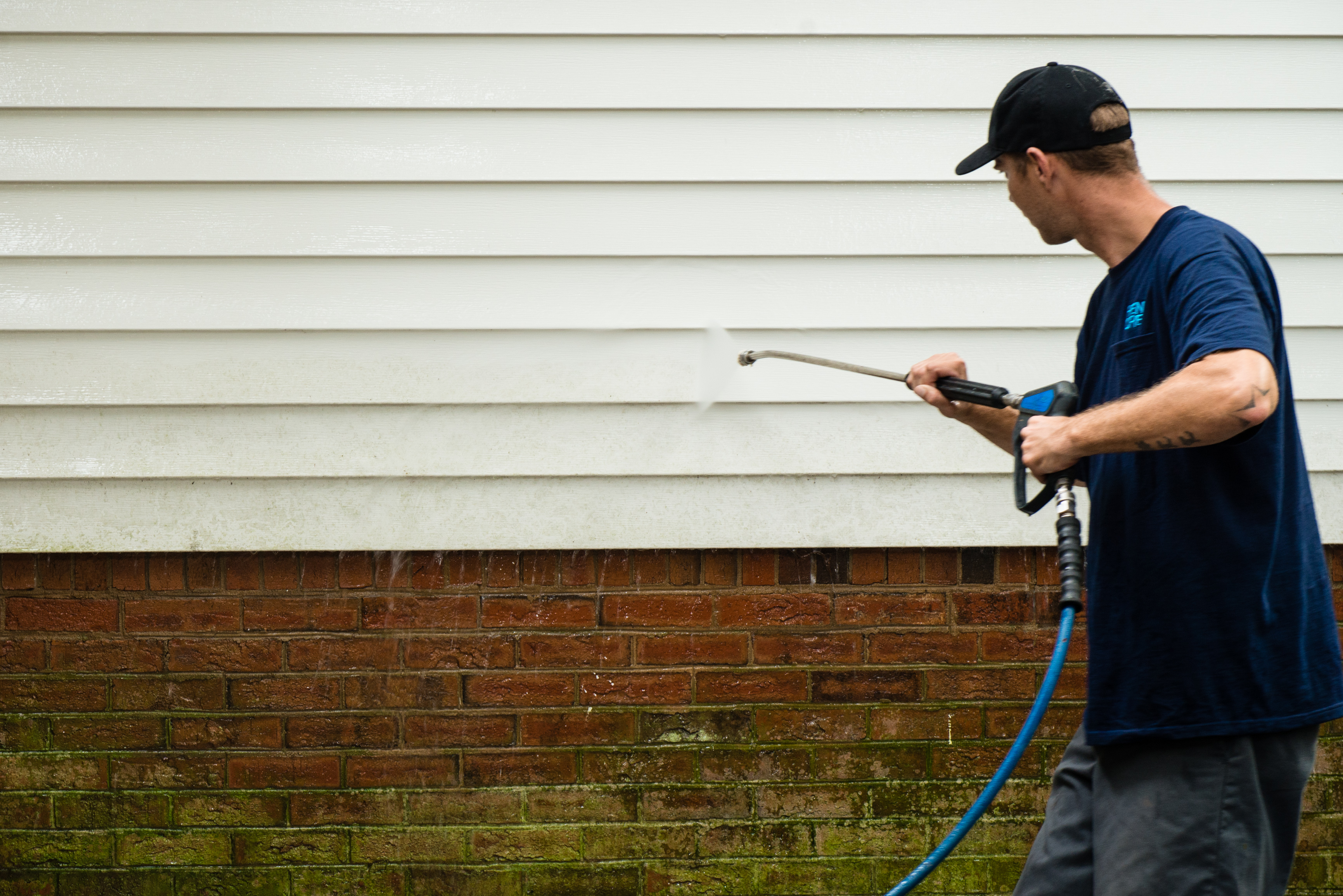 Pressure Washing Arundel Custom Painting